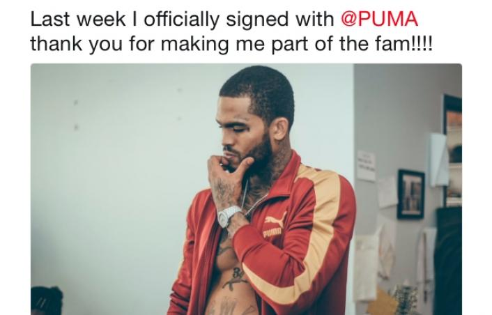 Dave East announces he's signed to Puma