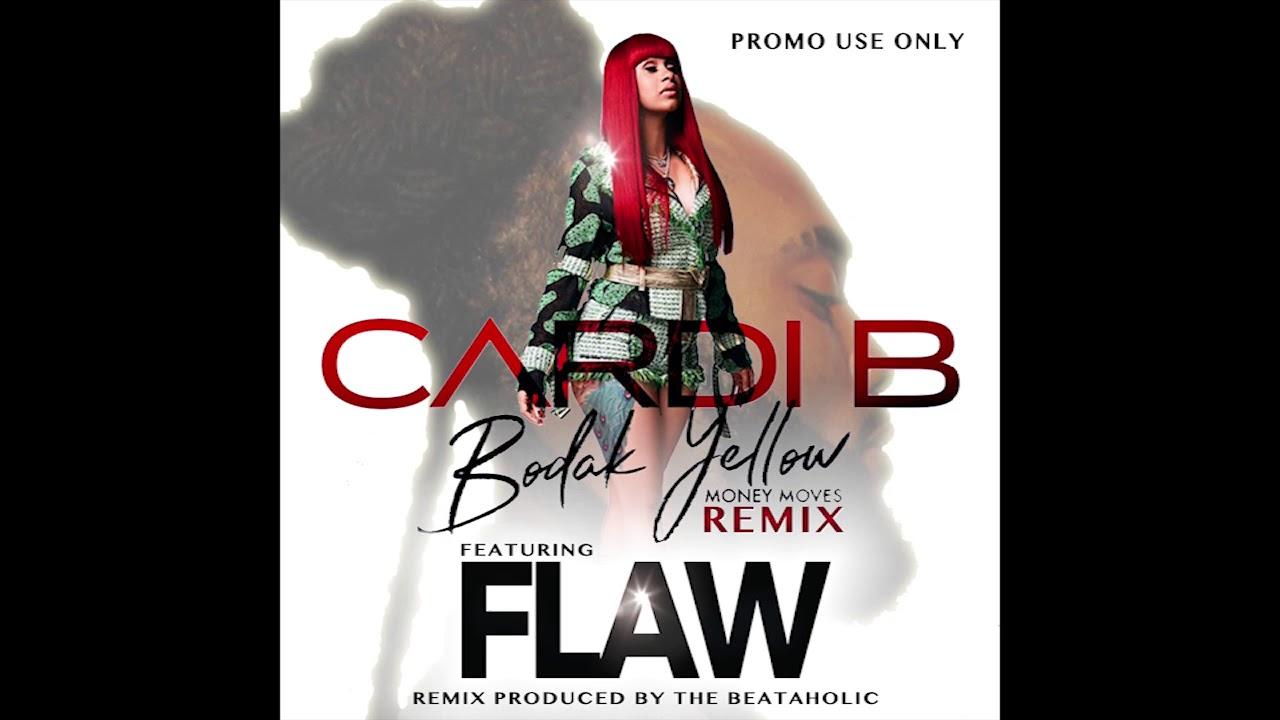 Cardi B – Bodak Yellow Ft. FLAW (Beataholic Remix) Clean