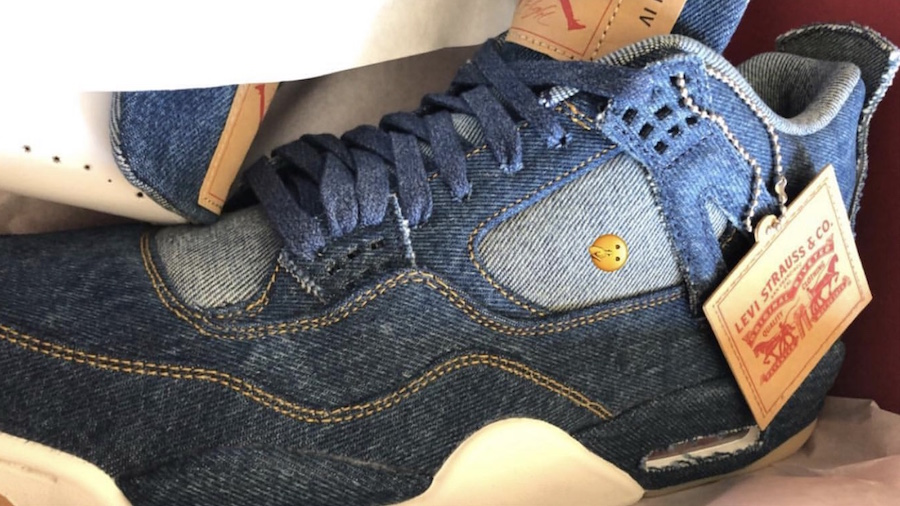 Levi x Air Jordan 4 Denim Release Date