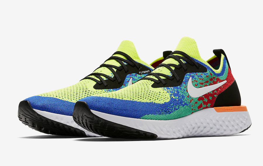 "The Extremely Limited Nike Epic React Flyknit ""Belgium"""