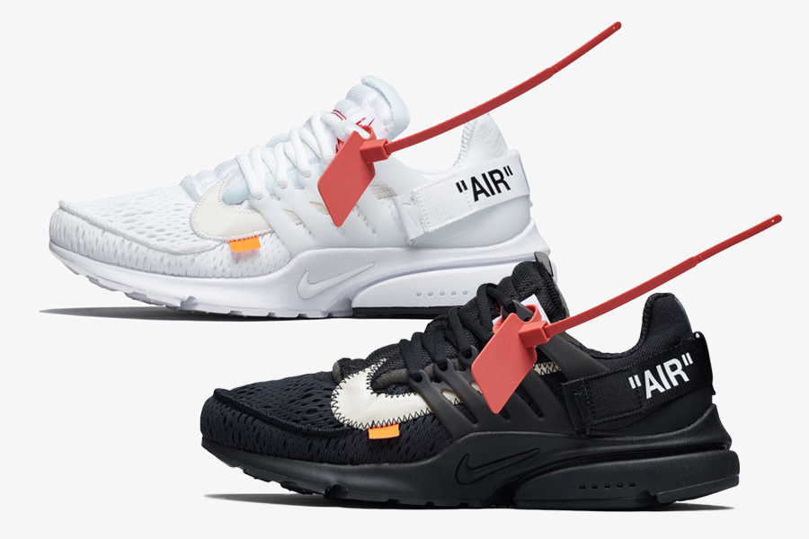 Official Photos of the Nike x Off-White Air Presto in Black and White