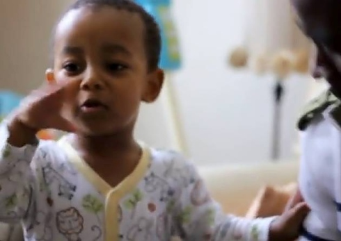 Freestyle From The 2 Year Old Rapper Khaliyl Iloyi