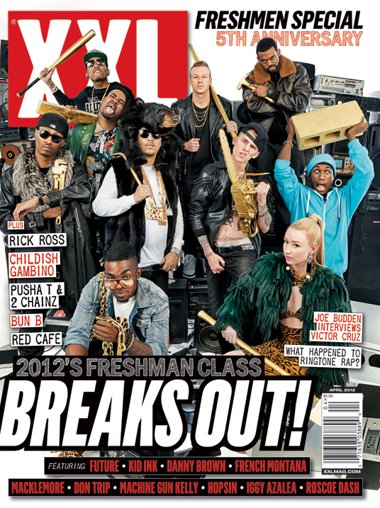 XXL 2012 Freshman Class List And Cover