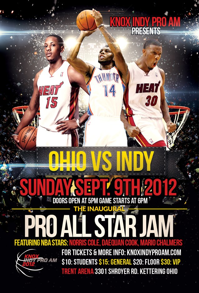 "The ""OHIO VS. INDY"" Pro All Star Jam & The Official After Party"