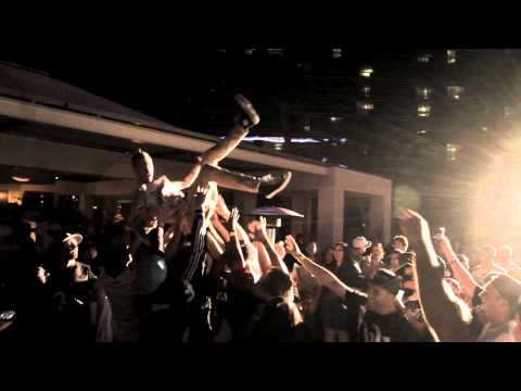 MGK and Young & Reckless TakeOver Hard Rock Hotel