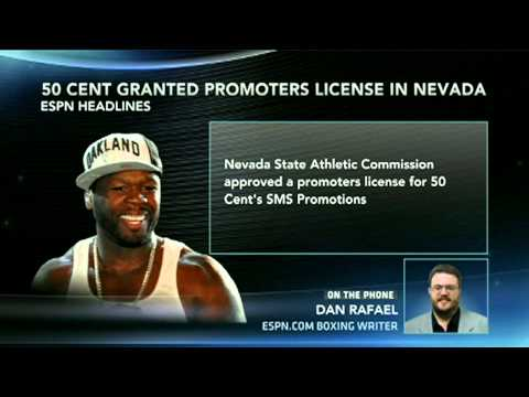 50 Cent Granted Promoters License In Nevada