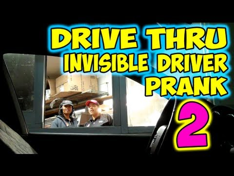 Invisible Driver Prank #2 (Car Moves Without Driver)