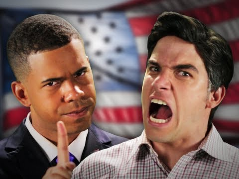 Barack Obama Vs. Mitt Romney [Epic Rap Battles Of History]