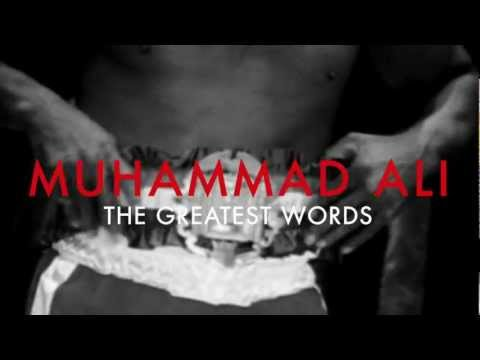 Muhammad Ali – The Greatest Words – Louis Vuitton Core Values Commercial