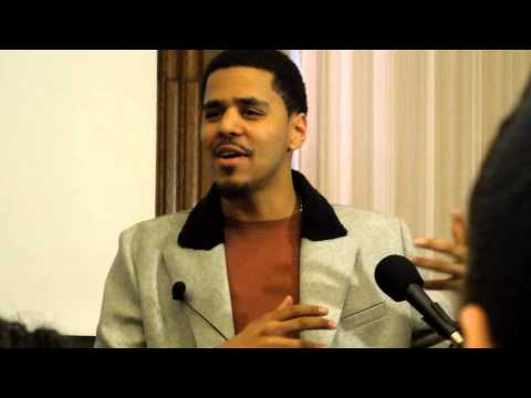 J.Cole Speaks Hip-Hop, & Life Lessons at Harvard University