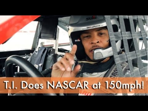 T.I. Races NASCAR At 150 MPH