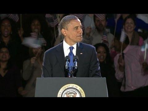 President Barack Obama Victory Speech