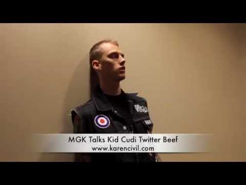 Machine Gun Kelly Talks Twitter Beef With Kid Cudi