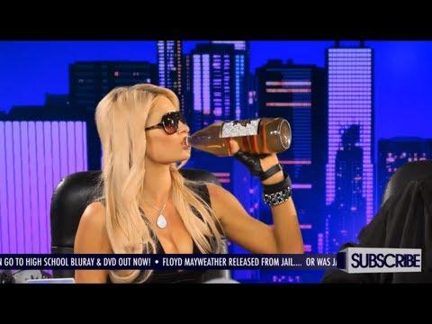 Paris Hilton Drinks a 40 With Snoop Dogg