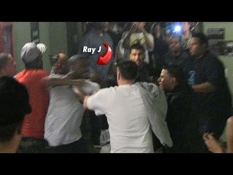 Ray J & Bad Azz Get Into A Huge Fight