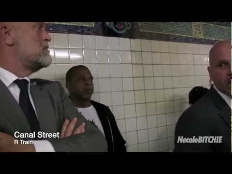 Jay-Z Causes A Scene Taking The Subway Train To Brooklyn