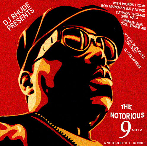 """DJ Rhude """"The Notorious 9"""" EP [VMG Approved]"""