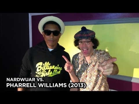 Nardwuar vs. Pharrell [Interview]
