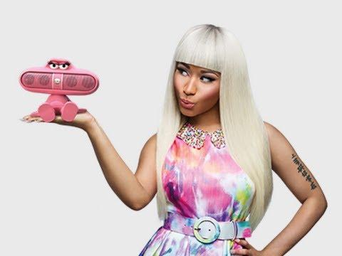 "Nicki Minaj ""Pink Pill"" Beats By Dre Commercial"