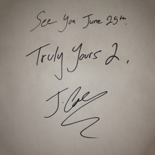 J.Cole – Truly Yours 2