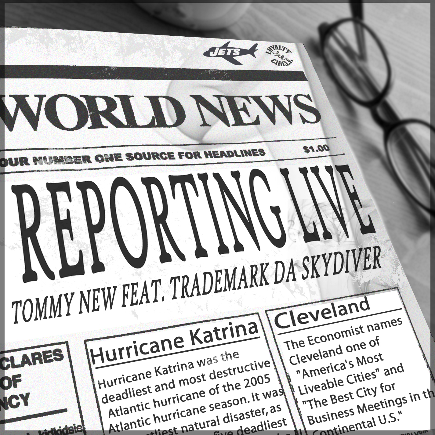 Tommy New Feat. TradeMark Da Skydiver – Reporting Live