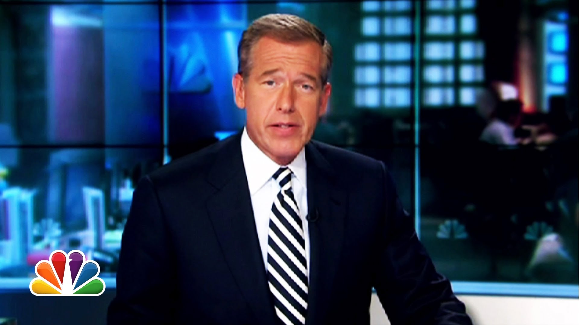 "Brian Williams Raps Warren G's ""Regulate"""