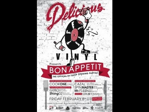 Delicious Vinyl – Official DV Shop Opening Party