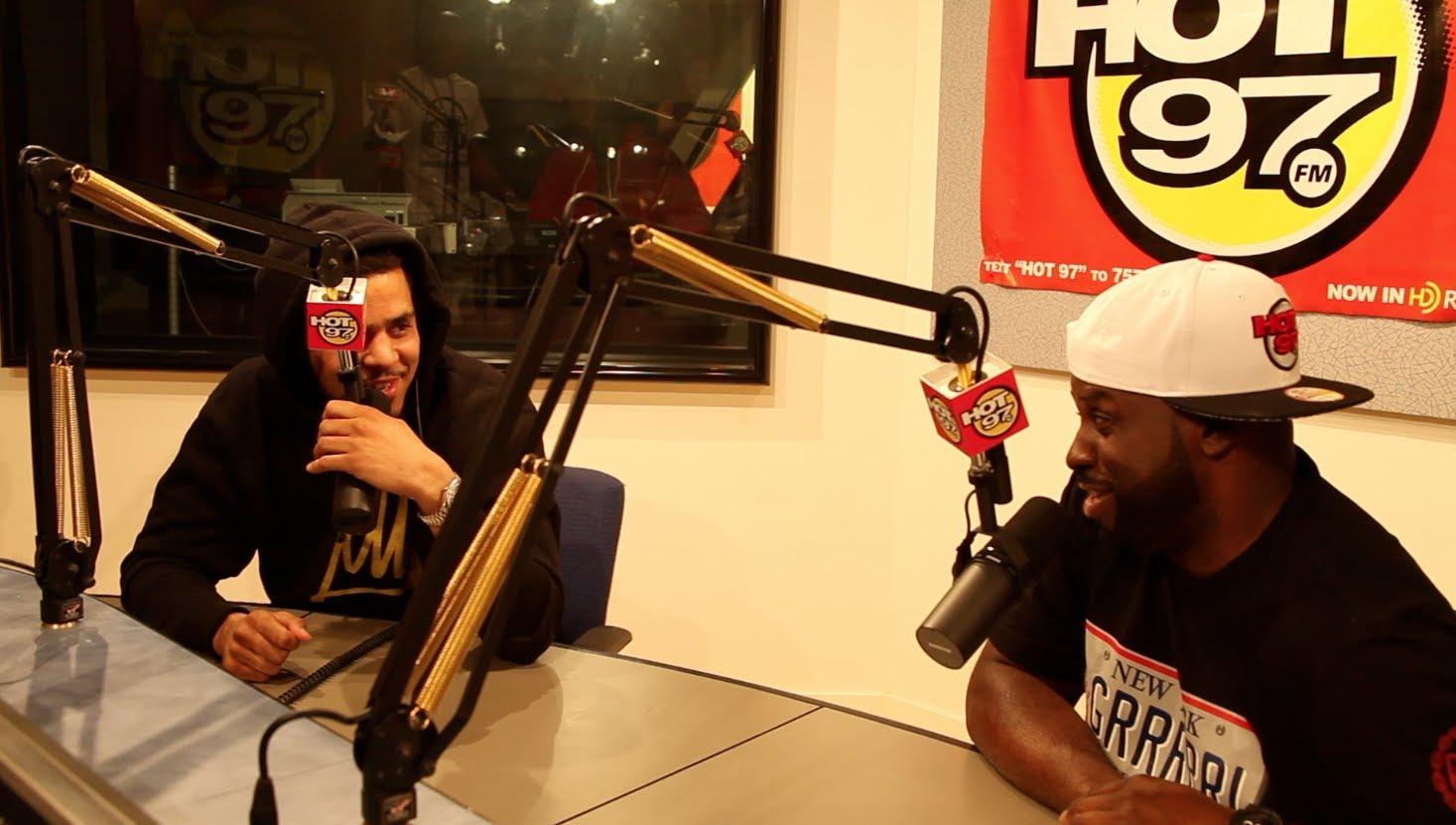 J.Cole Freestyles On The Funkmaster Flex Show