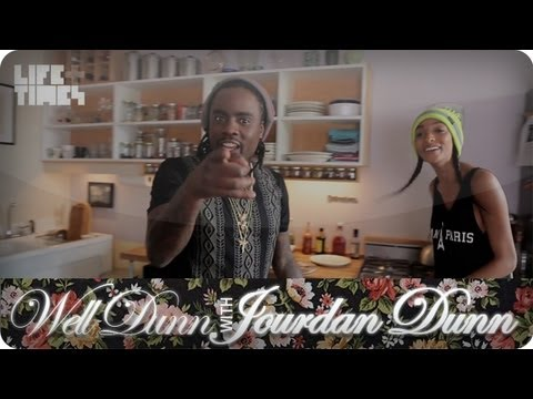 Wale Chefs It Up With Model Jourdan Dunn