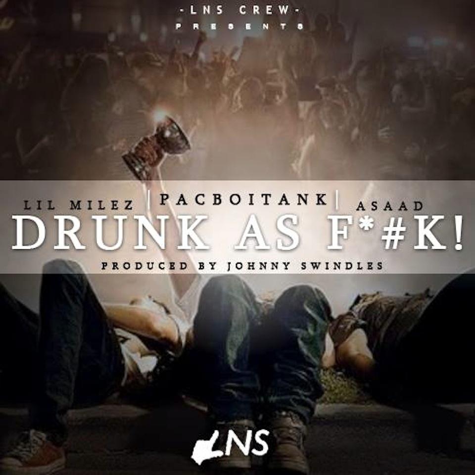 Pacboi Tank – Drunk as Fuck Artwork