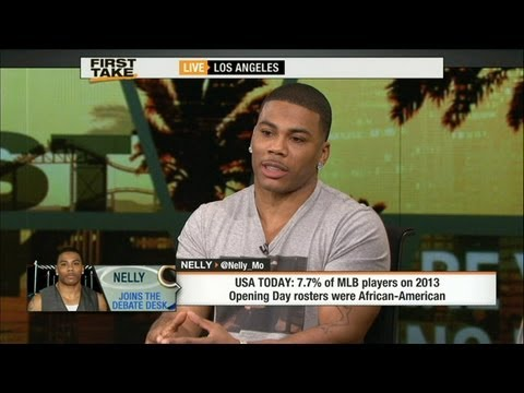 Nelly Appears On ESPN First Take