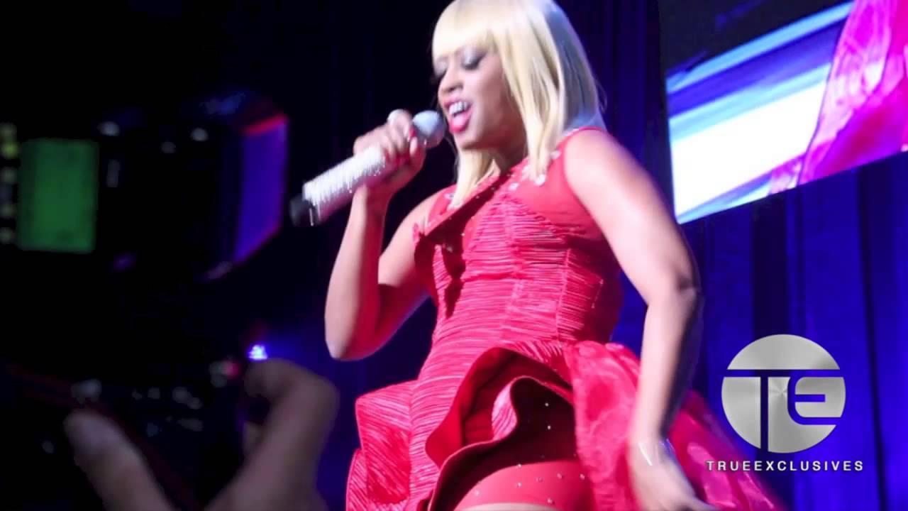 Trina Dons A Blonde Wig & Pays Tribute To Nicki Minaj
