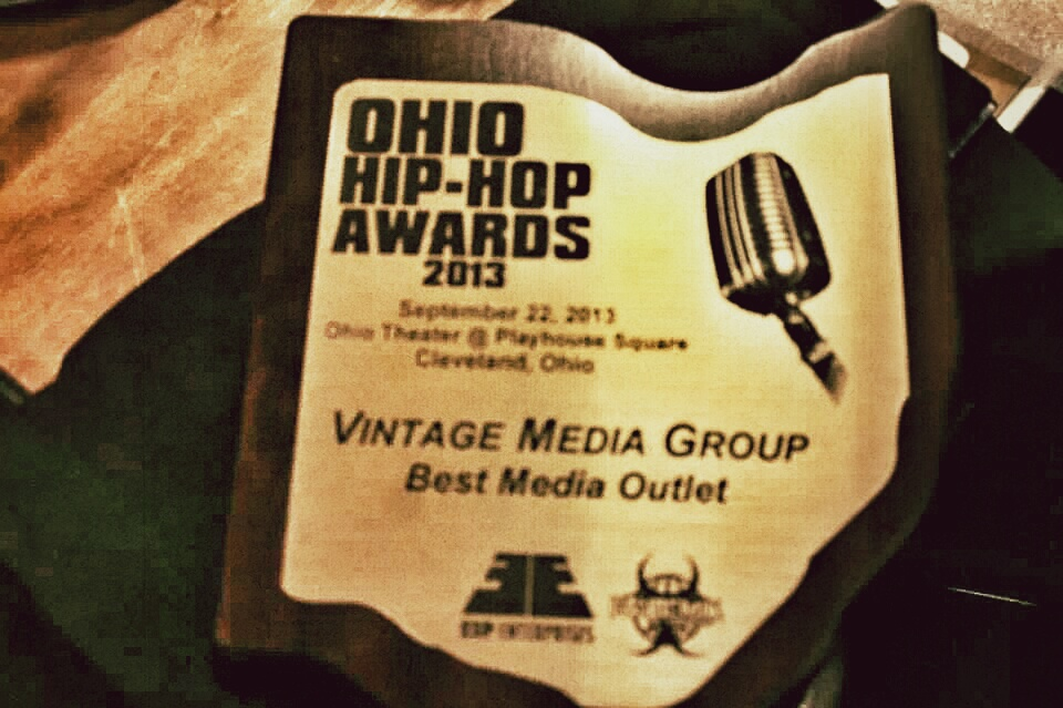 Vintage Media Group – Best Media Outlet 2013 Ohio Hip-Hop Awards