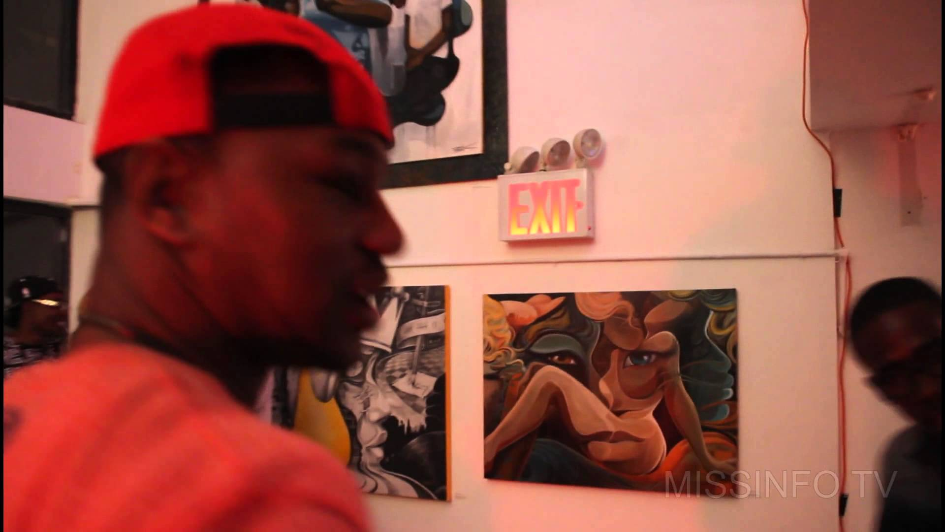 Cam'Ron Shows Us Dame Dash's Art Gallery