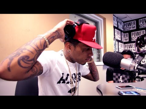 "Kid Ink Premieres New Single ""Show Me"" Feat. Chris Brown on Power 106"