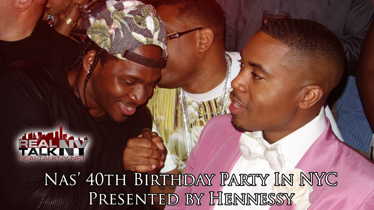 Nas Celebrates 40th Birthday In NYC