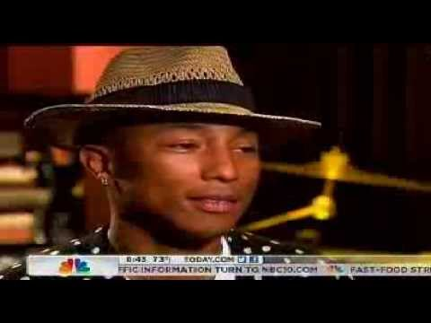 "Pharrell On ""Today Show"""