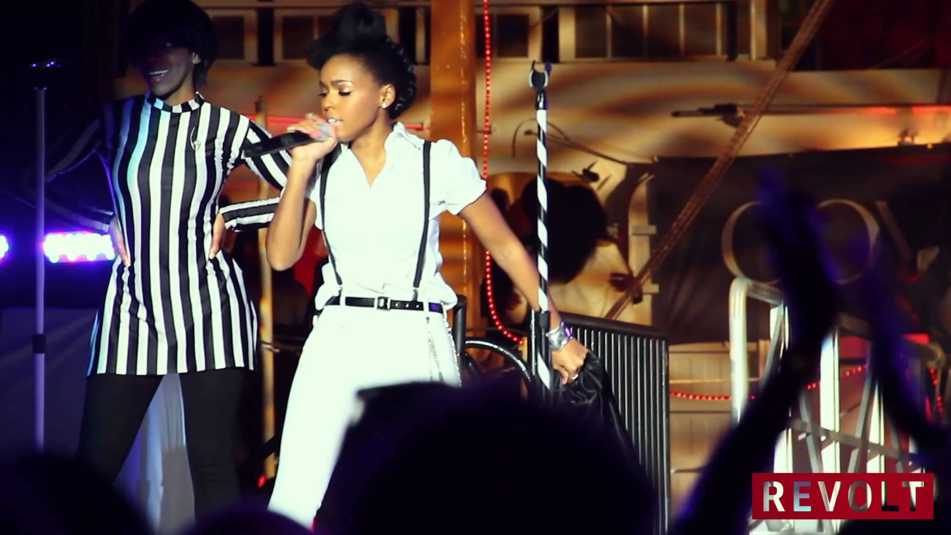 Prince Sends Janelle Monáe A Singing Telegram