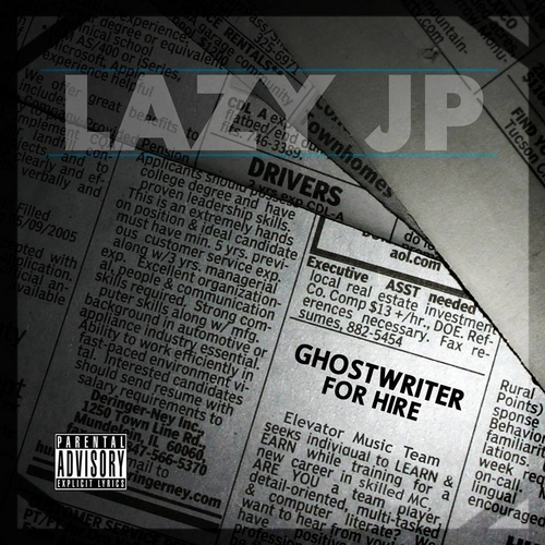 Lazy JP – Ghostwriter For Hire