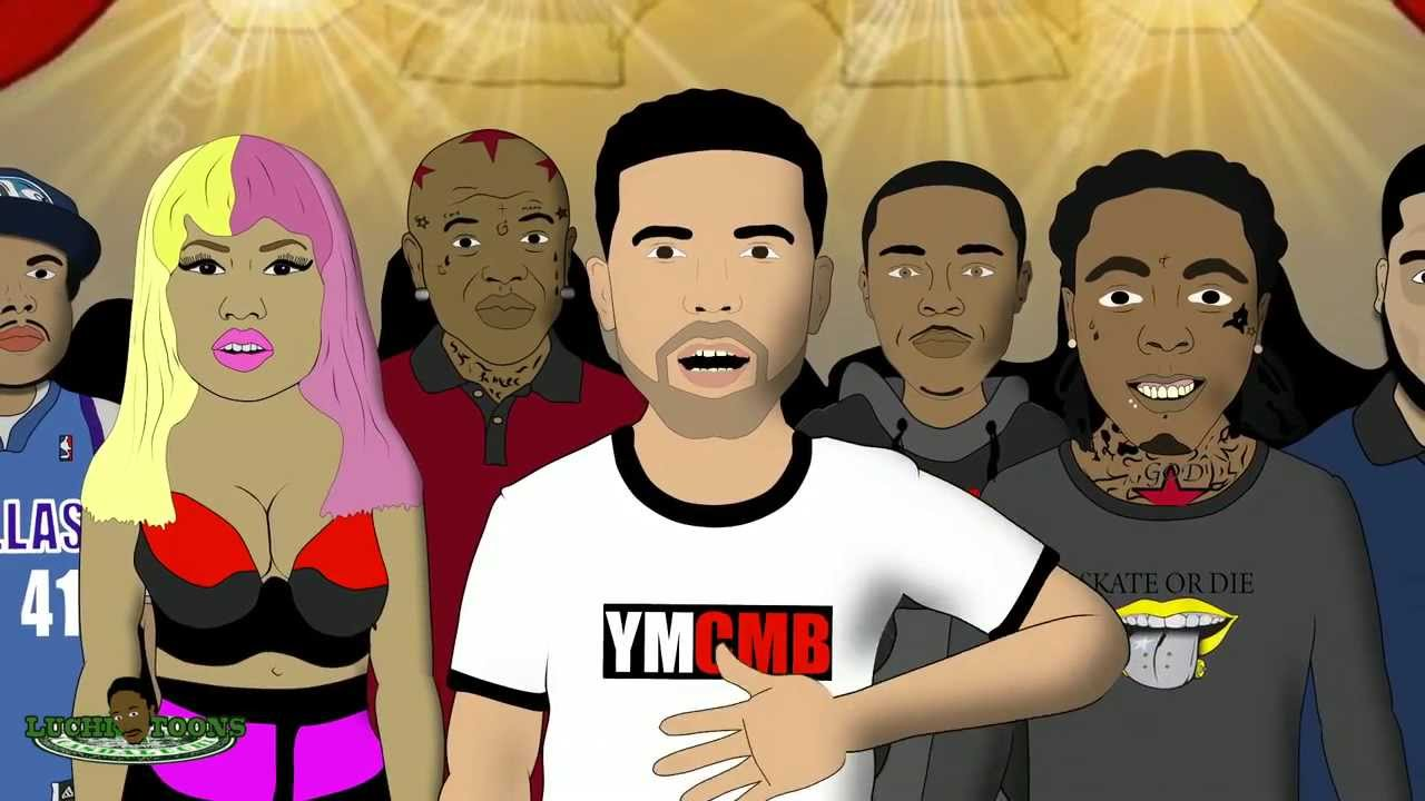 Drake vs. Kendrick Lamar In A KOTD Rap Battle (Spoof)