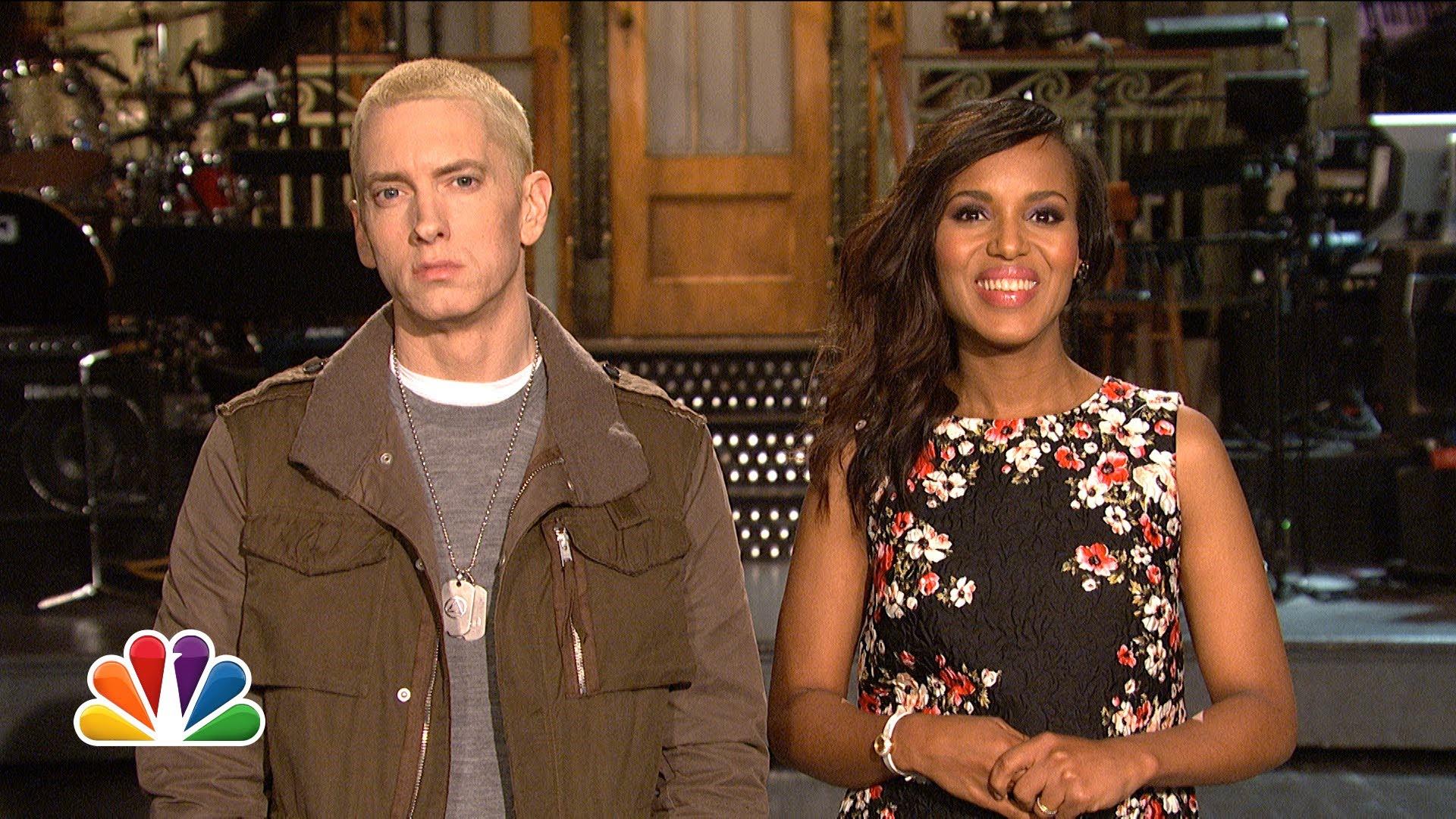 """Eminem's """"SNL"""" Promo"""