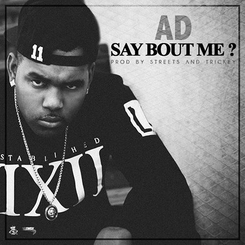 Say Bout Me-Artwork 500×500
