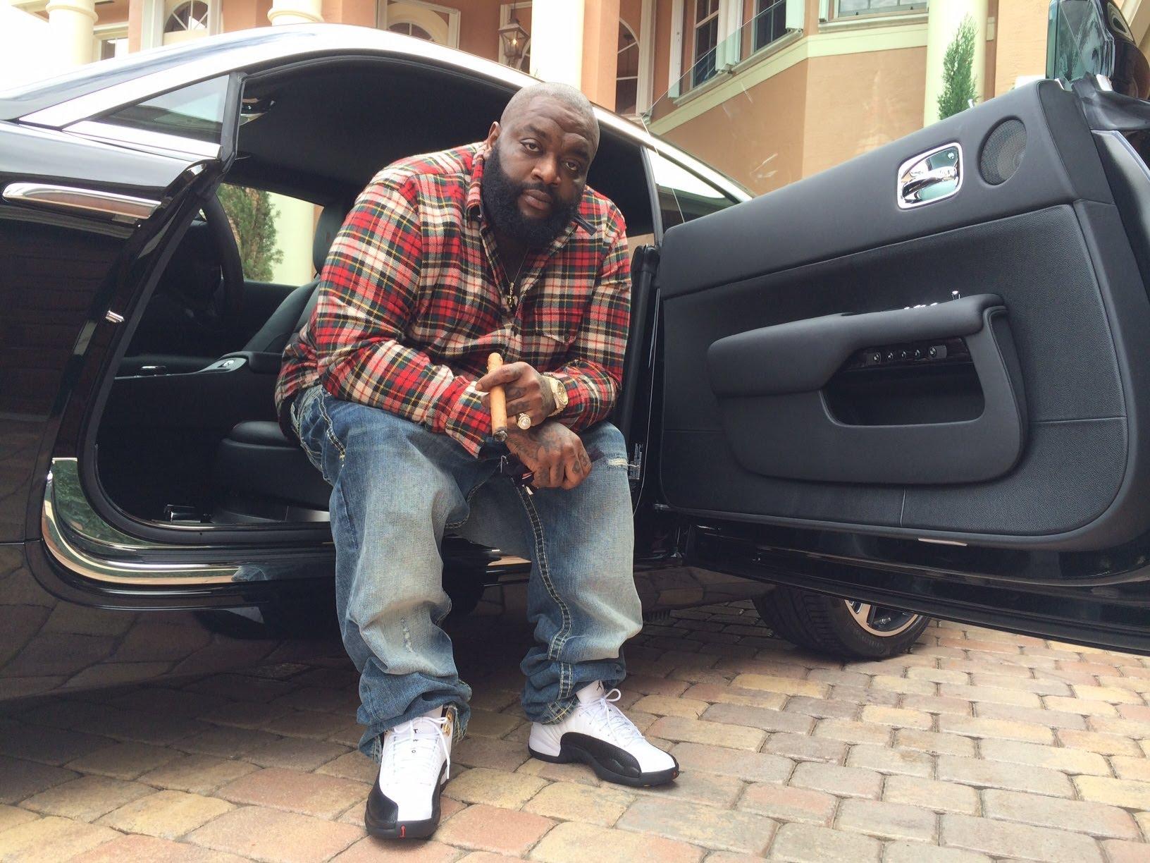 Rick Ross Buys A 2014 Rolls Royce Wraith