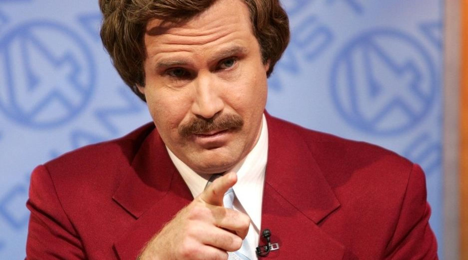 Will Ferrell Reports Real News As Ron Burgundy