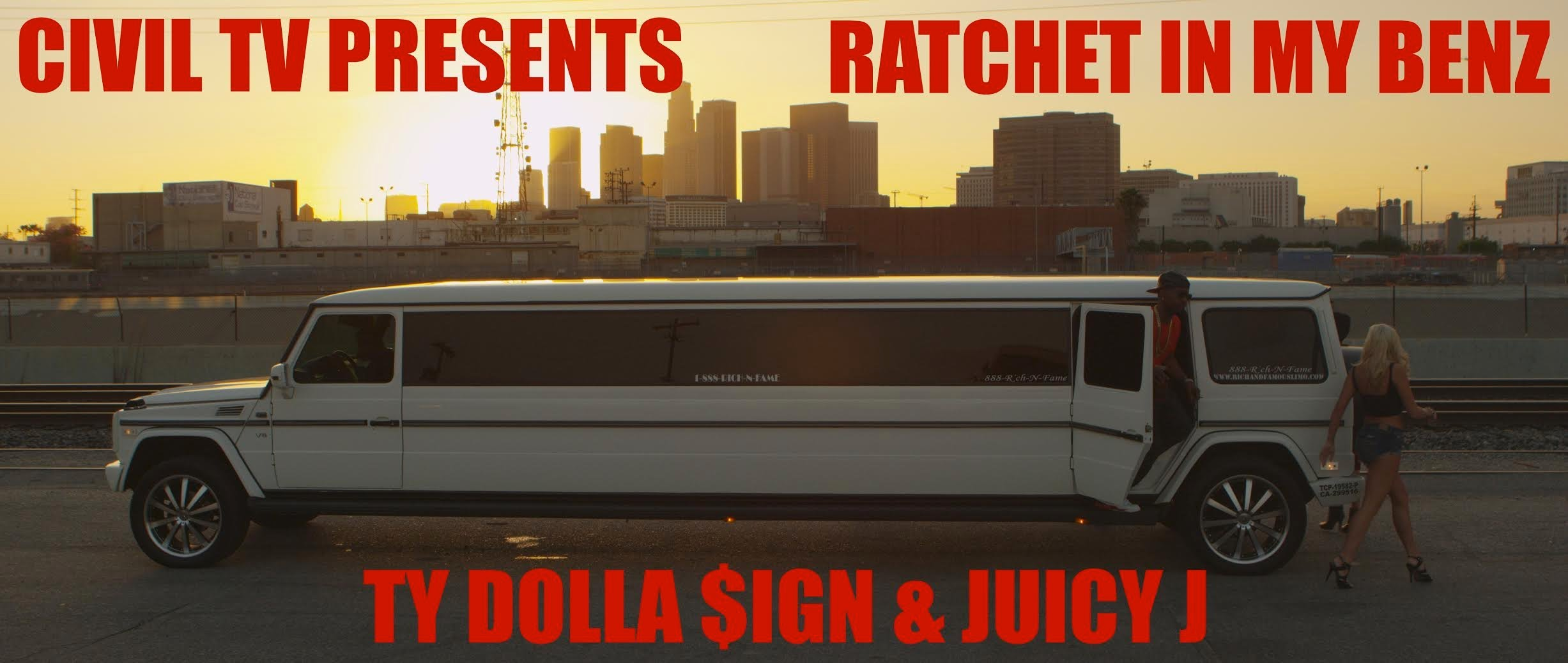 Ty Dolla $ign  Feat. Juicy J – Ratchet In My Benz