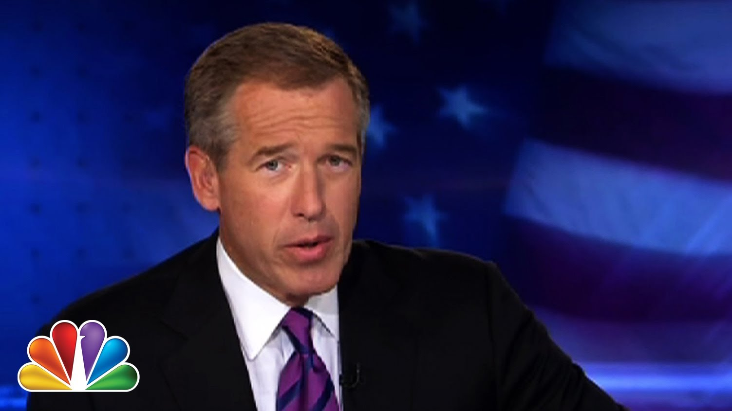 "Brian Williams & Lester Holt Raps ""Rapper's Delight"""