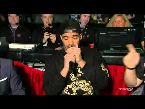 """Drake Night"" At Toronto Raptors Game"