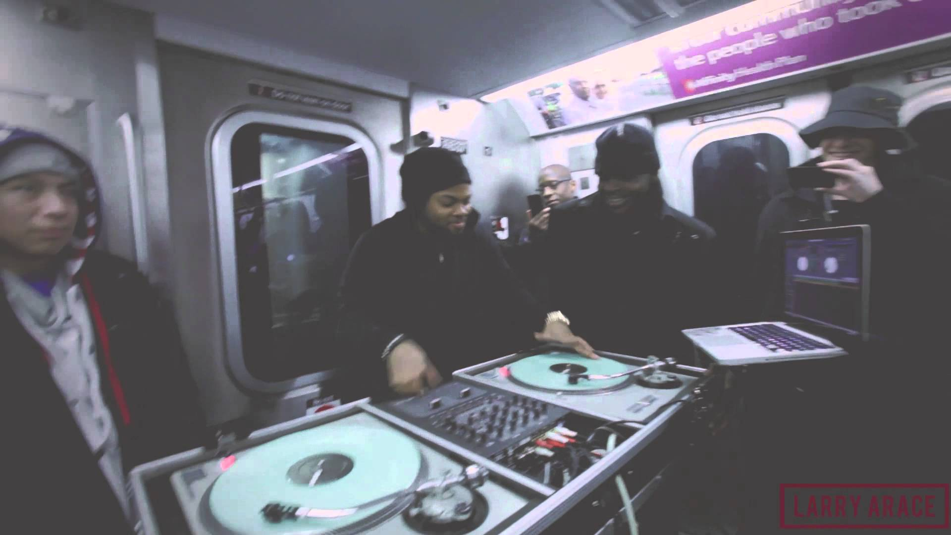 Jam Master Jay's Son Spins On Subway Ride To Brooklyn [VMG Approved]