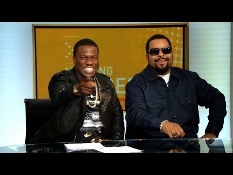 Kevin Hart & Ice Cube Take Over The Local News