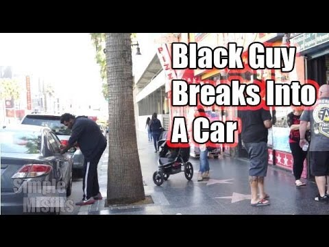 Racial Car Jacking Social Experiment: Black vs White Guy